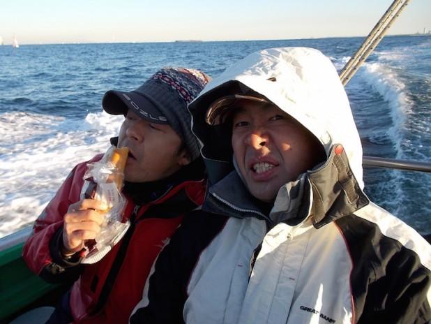 中山丸初釣り